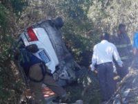 Mueren cuatro en Baní tras accidente entre motor y camioneta