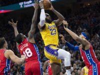 LeBron James supera la marca de Kobe Bryant y es el tercer mejor anotador en la historia
