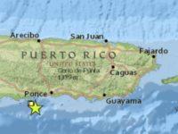 5.8 grados: Temblor estremece a Puerto Rico en la mañana del Día de Reyes