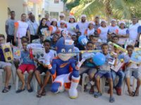 Colaboradores de Edesur entregan juguetes a través del proyecto Ángel De Luz