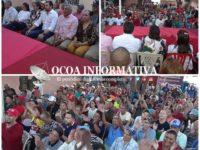 Diputado Goris Segura encabeza acto de apoyo reformistas a Aneudy Ortiz