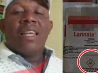 Hombre que se quitó la vida envenenándose dejó video explicando todo