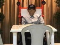 Anciano es velado jugando dominó en Puerto Plata