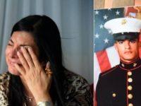 La desesperación de madre dominicana cuyo hijo, marine estadounidense, está en Irak