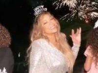 Mariah Carey recibió el 2020 en Punta Canta