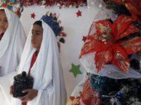 """Escuela Santa Báez obtiene premio en concurso """"Embellece tu escuela en Navidad"""""""