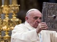 """Papa pide perdón: """"Muchas veces perdemos la paciencia, también yo. Pido perdón por el mal ejemplo de ayer"""""""