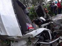 5 muertos en accidente en Bonao; suman 11 en la mañana de hoy