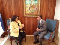 Wilfredo Tejeda gestiona llevar UASD a Ocoa; avanza gestiones con rectora Emma Polanco