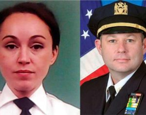 Sorprenden a teniente hispana y a un sargento sosteniendo relaciones sexuales en el baño de cuartel en Manhattan